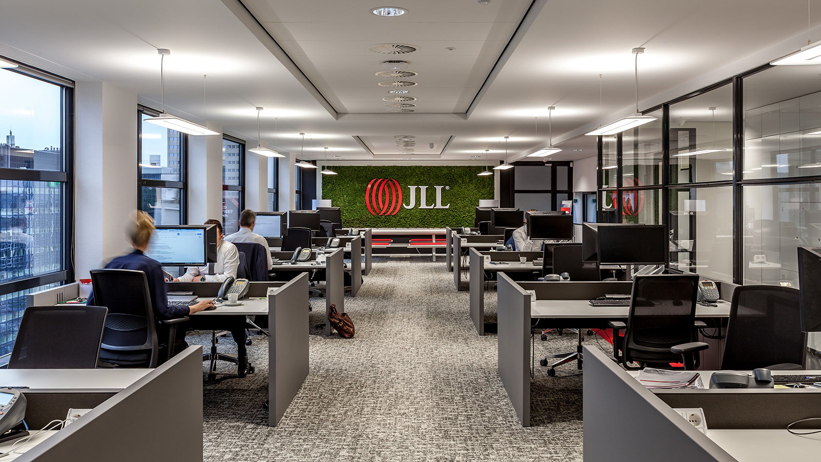 large office space. LARGE OFFICE SPACE Example Of A Large Office Space T